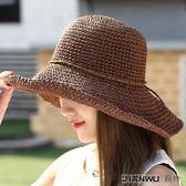 陽帽防曬帽遮陽帽可折疊涼帽小清晰韓版百搭
