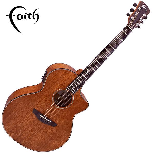 Faith FNCEMG 全單板桃花心木 41吋民謠吉他-2014年英國最佳原聲吉他/ 缺角造型/ 拾音器Fishman INK3/