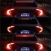 汽車高位剎車燈改裝爆閃燈后檔玻璃LED裝飾燈流光燈警示燈防追尾 概念3C旗艦店