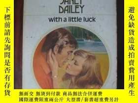 二手書博民逛書店With罕見a Little LuckY85718 Janet