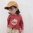 女童長袖t恤純棉2020春秋款洋氣薄款中小童女寶寶打底衫上衣兒童  【端午節特惠】