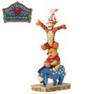 【正版授權】Enesco 維尼好友疊疊樂 塑像 公仔 精品雕塑 小熊維尼 跳跳虎 屹耳 小豬 迪士尼 - 890335