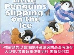 二手書博民逛書店Five罕見Little Penguins Slipping on the Ice Audio CDY4546