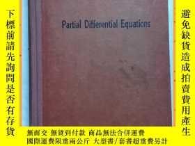 二手書博民逛書店英文書罕見partial diffenerential equations 偏微分方程Y16354 詳情見圖片