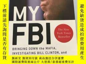 二手書博民逛書店My罕見FBI :Bring down the Mafia,In