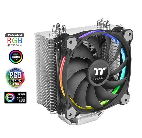 Riing Silent 12 RGB 主機版連動Sync版  CPU 散熱器【迪特軍】