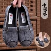 老北京布鞋女平底媽媽鞋軟底舒適春季新款民族風女鞋麻棉復古單鞋