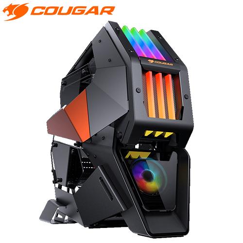 【客訂商品】 COUGAR 美洲獅 CONQUER 2 整合式RGB炫彩燈效 4片鋼化玻璃側蓋 頂級電競機箱 機殼