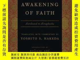 二手書博民逛書店The罕見Awakening Of FaithY256260 Translated Hakeda Columb