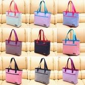 購物袋 帆布包時尚袋子大容量布包百搭外出手拎女手提單肩媽媽大包購物袋