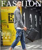 簡單時尚男士手提包 橫款公文包 電腦包新款商務休閒男包文件包潮   東川崎町   東川崎町