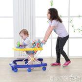 寶寶嬰兒幼兒童學步車6/7-18個月小孩多功能防側翻手推可坐帶音樂YYJ   MOON衣櫥
