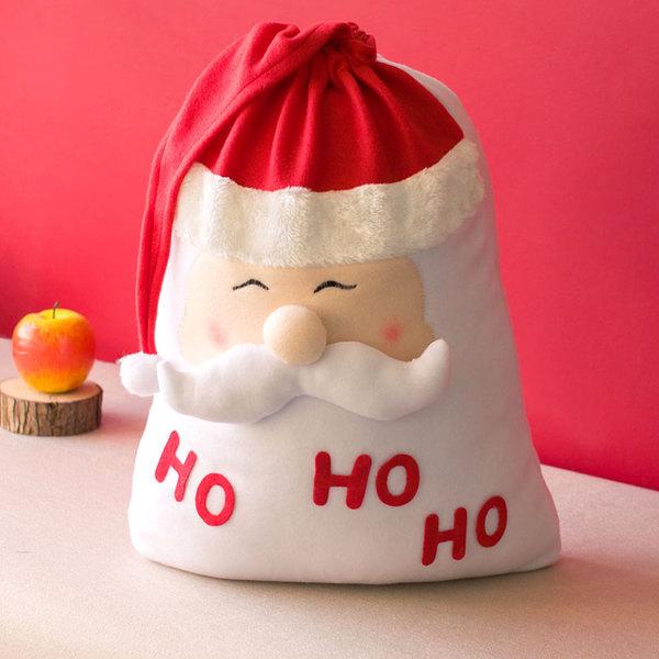 聖誕禮物袋 小朋友聖誕老人禮品袋 聖誕裝飾品 (二入)