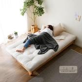 沙發床 北歐實木可折疊沙發床兩用經濟型客廳日式小戶型多功能雙人沙發床-限時八折購JY