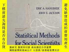 二手書博民逛書店Statistical罕見Methods for Social ScientistsY22725 出版1
