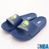NBA春夏親子拖鞋款-N74793/N74779藍勇士