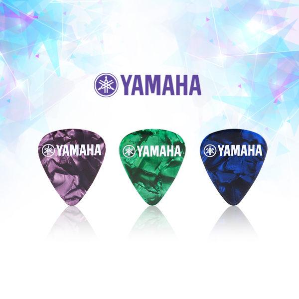 小叮噹的店- YAMAHA PICK 原廠吉他彈片 限量款 三入一組 木吉他 烏克麗麗 (YP-1)