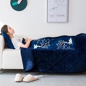 2件套 抱枕被子兩用加厚汽車載辦公室午睡枕頭靠枕靠墊折疊空調毯【輕派工作室】