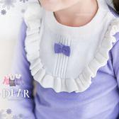 小公主氣質加分~保暖荷葉邊領圍針織長袖上衣-聖誕(260410)★水娃娃時尚童裝★
