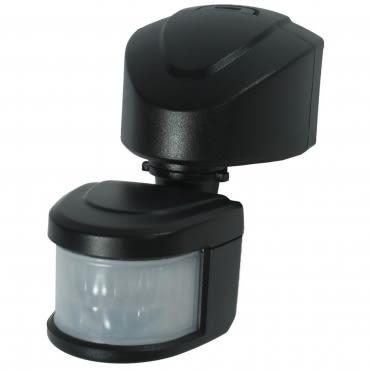 黑色壁掛式燈控感應開關
