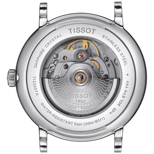 TISSOT天梭 CARSON經典時尚80小時動力儲存機械男錶 T1224071604300