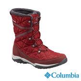 Columbia 女 OT防水保暖雪靴-紅色 【GO WILD】