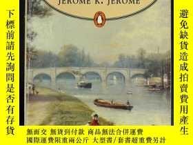 二手書博民逛書店Three罕見Men in a Boat (英文原版)Y222821 Jerome K. Jerome PEN
