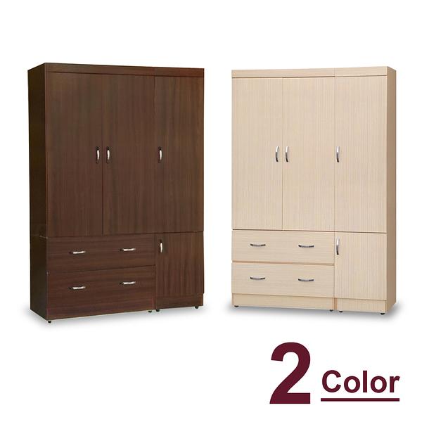 衣櫥【時尚屋】[5U7]無敵4x6尺衣櫥5U7-180-461兩色可選免運費/免組裝/臥室系列/衣櫥