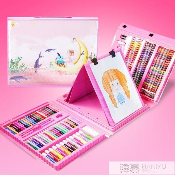 兒童畫筆蠟筆彩色水彩筆安全水洗畫畫套裝文具幼兒園小伶玩具  女神購物節 YTL