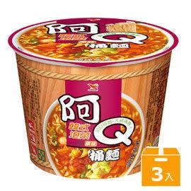 阿Q桶麵韓式泡菜風味(3碗/組)【合迷雅好物超級商城】