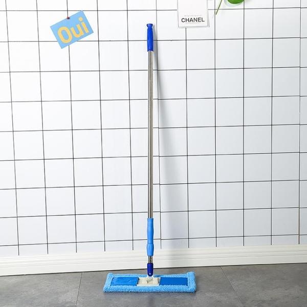 擦天花板 洗天花板擦瓷磚1.8米不銹鋼桿多功能平板拖把擦墻 床底下廚房樓梯 三角衣櫥