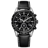 CITIZEN星辰 萬年曆光動能時尚皮帶腕錶(BL5496-11E)