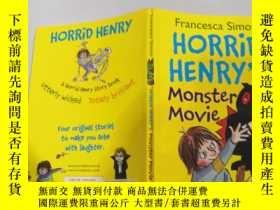 二手書博民逛書店horrid罕見Henry s monster movie 可怕的亨 利的怪獸電 影.Y200392