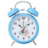 學生用床頭創意兒童小鬧鐘電子卡通靜音簡約時鐘超大聲音台鐘鬧表