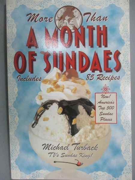 【書寶二手書T8/原文小說_JSV】More Than a Month of Sundaes_Turback, Mich