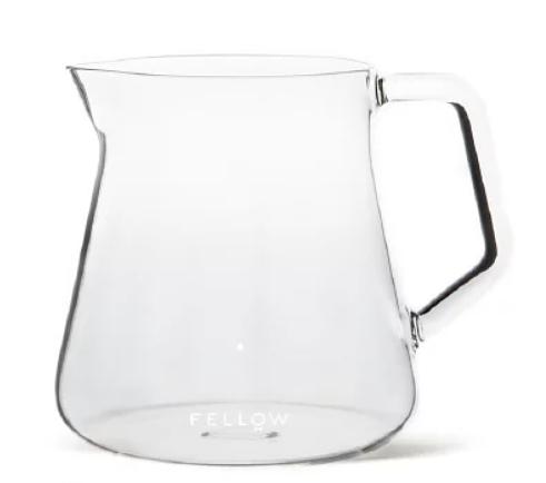 金時代書香咖啡 FELLOW Mighty Small 玻璃濾壺 300ml 透明 FELLOW-MIGHTY-300