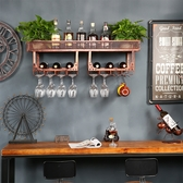 壁挂酒架酒瓶架紅酒杯架倒挂酒吧鐵藝酒架創意牆上酒櫃挂杯架擺件xw