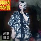 和服外套-日式復古玉兔雪紡和風防曬女罩衫68af7【時尚巴黎】