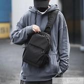 休閒男士胸包簡約單肩斜背包多功能斜背包小包潮流郵差包男包 4.4超級品牌日