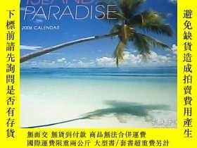 二手書博民逛書店ISLAND罕見PARADISE 2006 CALENDAR 島