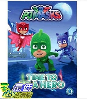 [7美國直購] 暢銷畫冊書 PJ Masks: Time to Be a Hero