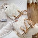 手提包 夏天手提包包新款潮時尚網紅單肩包大容量女包百搭蕾絲托特包 【618特惠】