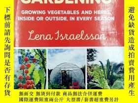 二手書博民逛書店Year-Round罕見Gardening: Growing Vegetables and Herbs, Insi