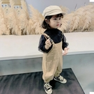 男女寶寶吊帶褲2020秋新款童裝1-5女小童網紅洋氣褲子兒童長褲 【雙十二狂歡】