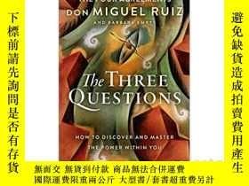 二手書博民逛書店三個問題:如何發現和掌握罕見THE THREE QUESTION