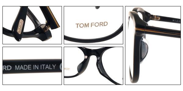 TOM FORD 光學眼鏡 TOM5388F 001 (黑) 簡約別緻經典款 # 金橘眼鏡