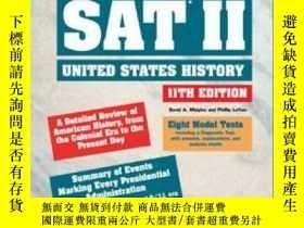 二手書博民逛書店How罕見To Prepare For The Sat Ii: United States HistoryY2