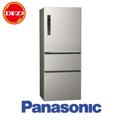 PANASONIC 國際牌 變頻三門冰箱 NR-C509HV-S 銀河灰 500公升 公司貨 ※運費另計(需加購)