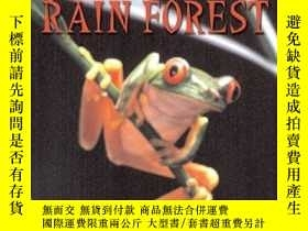 二手書博民逛書店Tropical罕見Rain Forest (Scholastic Reader Level 3)-熱帶雨林(學術
