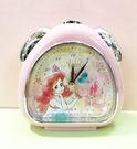【震撼精品百貨】The Little Mermaid Ariel小美人魚愛麗兒~迪士尼鬧鐘-美人魚粉#06707